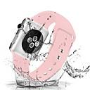 رخيصةأون أساور ساعات هواتف أبل-حزام إلى Apple Watch Series 4/3/2/1 Apple عصابة الرياضة / بكلة كلاسيكية سيليكون شريط المعصم