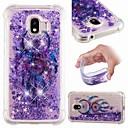 رخيصةأون حافظات / جرابات هواتف جالكسي J-غطاء من أجل Samsung Galaxy J8 (2018) / J7 (2017) / J7 (2018) ضد الصدمات / سائل متدفق / شفاف غطاء خلفي ملاحق الأحلام / بريق لماع ناعم TPU