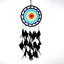 رخيصةأون ديكور الحائط-حلم الماسك اليدوية مع ريشة بوهيميا الهند نمط الجدار الديكور