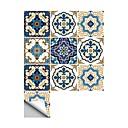 billige Dekorationsklistermærker-Dekorative Mur Klistermærker - 3D mur klistermærker Abstrakt / Former Badeværelse / Køkken