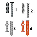 cheap Apple Watch Bands-Watch Band for Apple Watch Series 4/3/2/1 Apple Classic Buckle Silicone Wrist Strap