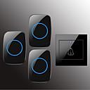 رخيصةأون سماعات الرأس و الأذن-Factory OEM لاسلكي واحد إلى ثلاثة الجرس موسيقى / دينغ دونغ جرس الباب غير المرئية في السطح
