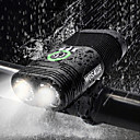 cheap Bike Lights-Dual LED Bike Light Front Bike Light Headlight Flashlight Cycling Waterproof Portable USB Rechargeable Battery 2400 lm White Cycling / Bike - WOSAWE / 360°Rotation / Multiple Modes