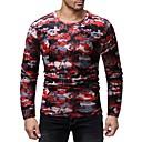 cheap Men's Tees & Tank Tops-Men's Basic T-shirt - Color Block / Camouflage Print