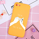رخيصةأون أغطية أيفون-غطاء من أجل Apple iPhone XS / iPhone XR / iPhone XS Max نموذج غطاء خلفي جملة / كلمة / كارتون ناعم TPU