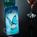 رخيصةأون حافظات / جرابات هواتف جالكسي S-غطاء من أجل Samsung Galaxy S9 / S9 Plus / S8 Plus يضوي ليلاً / نموذج غطاء خلفي فراشة ناعم TPU