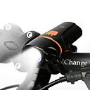 ieftine Bijuterii de Păr-LED Lumini de Bicicletă Iluminat Bicicletă Față Becul farurilor Lanternă LED Ciclism montan Ciclism Rezistent la apă Siguranță Portabil Baterie reîncărcabilă 200 lm Baterie reîncărcabilă Alb Camping