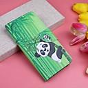 رخيصةأون إكسسوارات سامسونج-غطاء من أجل Huawei Huawei P20 / Huawei P20 Pro / Huawei P20 lite محفظة / حامل البطاقات / مع حامل غطاء كامل للجسم النباتات / باندا قاسي جلد PU / P10 Lite