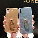 رخيصةأون واقيات شاشات أيفون 6/ 6 بلس-غطاء من أجل Apple iPhone XS / iPhone XR / iPhone XS Max ضد الصدمات / حامل الخاتم / نحيف جداً غطاء خلفي بريق لماع ناعم TPU