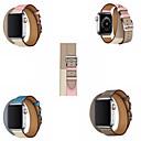 abordables Correas para Apple Watch-Ver Banda para Apple Watch Series 4/3/2/1 Apple Hebilla Clásica Cuero Auténtico Correa de Muñeca