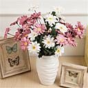 Недорогие Другие украшения-Искусственные Цветы 1 Филиал Классический европейский Хризантема Вечные цветы Букеты на стол