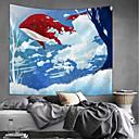 halpa Seinäkoristeet-Puutarha-teema Wall Decor 100% polyesteri Moderni Wall Art, Seinävaatteet Koriste