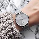 abordables Relojes de Mujer-Mujer Reloj de Pulsera Cuarzo Acero Inoxidable Negro / Plata / Dorado Resistente al Agua Creativo Analógico Vintage Moda - Negro Plata Oro Rosa