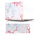 "abordables Accessoires PS4-MacBook Case with Protectors Fleur PVC pour MacBook Air 13 pouces / MacBook Pro 13 pouces / New MacBook Air 13"" 2018"