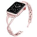 abordables Correas para Apple Watch-Ver Banda para Apple Watch Series 4/3/2/1 Apple Diseño de la joyería Metal / Acero Inoxidable Correa de Muñeca