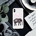 رخيصةأون المكياج & العناية بالأظافر-غطاء من أجل Apple iPhone XS / iPhone XR / iPhone XS Max نموذج غطاء خلفي جملة / كلمة / حيوان / فيل ناعم TPU