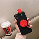 رخيصةأون أغطية أيفون-غطاء من أجل Apple iPhone XS / iPhone XR / iPhone XS Max مع حامل / نحيف جداً / نموذج غطاء خلفي زهور ناعم TPU
