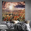 ieftine Decor de Perete-Temă Grădină / Temă Florală Wall Decor 100% Poliester Modern Wall Art, Tapiserii de perete Decor