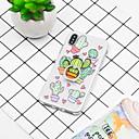 رخيصةأون أغطية أيفون-غطاء من أجل Apple iPhone XS / iPhone XR / iPhone XS Max حامل الخاتم / نموذج غطاء خلفي النباتات / كارتون ناعم TPU
