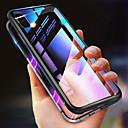 رخيصةأون حافظات / جرابات هواتف جالكسي S-غطاء من أجل Apple iPhone XS / iPhone XS Max ضد الصدمات / شفاف / مغناطيس غطاء كامل للجسم لون سادة قاسي معدن إلى iPhone XS / iPhone XR / iPhone XS Max