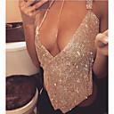preiswerte Körperschmuck-Körper-Kette / Bauchkette Diamantimitate Einzigartiges Design Damen Gold / Silber Körperschmuck Für Party / Normal / Karnival / Klub / Bar