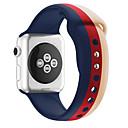 preiswerte Apple Watch Armbänder-Uhrenarmband für Apple Watch Series 4/3/2/1 Apple Sport Band Silikon Handschlaufe