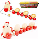 cheap Stress Relievers-Stress Reliever Chicken Egg Stress and Anxiety Relief Funny Wooden 1 pcs Toddler All Toy Gift