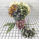 رخيصةأون ساعات الرجال-زهور اصطناعية 5 فرع كلاسيكي عتيق تقليدي أرطنسية أزهار الطاولة