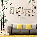 رخيصةأون ملصقات ديكور-لواصق حائط مزخرفة - لواصق / ملصقات الحائط الحيوان 3D دورة المياه / غرفة الطعام / غرفة دراسة / مكتب