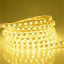 Χαμηλού Κόστους Φωτολωρίδες LED-25m ευέλικτη οδήγησε φως ταινίες 1500 leds 5050 smd ζεστό λευκό λευκό κόκκινο αδιάβροχο διακοπές χριστουγεννιάτικο διακόσμηση γάμου 220-240 v