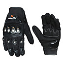 رخيصةأون خواتم-دراجة نارية قفازات اصبع كامل البوليوريثان / قطن / نايلون M / L / XL أسود