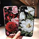 ieftine Protectoare Ecran de Samsung-Maska Pentru Apple iPhone XS / iPhone XR / iPhone XS Max Model Capac Spate Floare Moale TPU