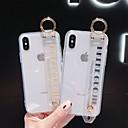 رخيصةأون أغطية أيفون-غطاء من أجل Apple iPhone XS / iPhone XR / iPhone XS Max ضد الصدمات غطاء خلفي لون سادة ناعم TPU