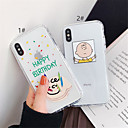 cheap iPhone Cases-Case For Apple iPhone XR / iPhone XS Max Transparent Back Cover Cartoon Soft TPU for iPhone XS / iPhone XR / iPhone XS Max