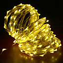 cheap Car Headlights-20m String Lights 200 LEDs Warm White / RGB / White Creative / Cuttable / Party 12 V 1pc