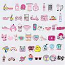 Недорогие Скины для iPhone-Наклейки для Универсальный Защита от царапин Мультипликация / Принцесса Узор PVC iPhone X / iPhone 8 Plus / iPhone 7 Plus