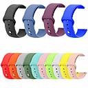 رخيصةأون إكسسوارات سامسونج-حزام إلى Samsung Galaxy Watch 46 / Samsung Galaxy Watch 42 Samsung Galaxy عصابة الرياضة جلد اصطناعي شريط المعصم