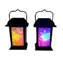 ieftine Becuri Solare LED-1 buc 0.2 W Veioză / Lumini Solare LED / Led Street Street Solar / Decorativ Multicolor 1.2 V Lumina Exterior / Curte / Grădină LED-uri de margele
