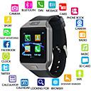 levne Chytré hodinky-Kimlink DZ09S Muži Inteligentní hodinky IOS Bluetooth Dotykový displej Spálené kalorie Hands free hovory FM rádio Fotoaparát Stopky Krokoměr Záznamník hovorů Sledování aktivity Měřič spánku / Android