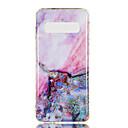 Χαμηλού Κόστους Θήκες / Καλύμματα Galaxy S Series-tok Για Samsung Galaxy Galaxy S10 Plus / Galaxy S10 E IMD / Με σχέδια Πίσω Κάλυμμα Μάρμαρο Μαλακή TPU για S9 / S9 Plus / S8 Plus