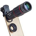 رخيصةأون كاميرا هاتف جوال-عدسة الهاتف المحمول عدسة تركيز طويل زجاج / سبيكة ألومنيوم 10x و أكثر 35 mm 3 m 9.6 ° العدسة مع الحامل / كوول