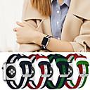رخيصةأون قيود ساعات-حزام إلى Apple Watch Series 4/3/2/1 Apple عصابة الرياضة القماش / نايلون شريط المعصم