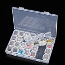 ieftine Confotul Călătoriei-Cutie stocare Plastic Multifuncțional / Durabil Transparent