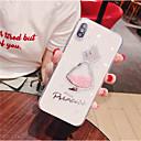 رخيصةأون أغطية أيفون-الحال بالنسبة لتفاح iphone xr / iphone xs max / شفاف الغطاء الخلفي لمعان / سيدة مثير / كلمة / عبارة لينة تبو للآيفون x / xs / 6/6 زائد / 6s / 6s plus / 7/7 plus / 8/8 plus