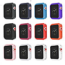 preiswerte Apple Watch Hüllen-tpu schutzhülle serie 4 3 2 1 für apple watch 44 mm 40 mm 38 mm 42mm bunte deckelschale