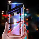 abordables Coques d'iPhone-Coque Pour Apple iPhone 8 / iPhone XS Max Miroir Coque Couleur Pleine Dur Verre Trempé pour iPhone XS / iPhone XR / iPhone X