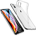 abordables Fundas para iPhone-Funda Para Apple iPhone XS / iPhone XS Max Antigolpes / Ultrafina / Transparente Funda Trasera Un Color Suave TPU para iPhone XS / iPhone XR / iPhone XS Max