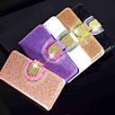 Недорогие Чехлы и кейсы для Galaxy A5-Кейс для Назначение SSamsung Galaxy A6 (2018) / A6+ (2018) / Galaxy A7(2018) Кошелек / Бумажник для карт / Стразы Чехол Сияние и блеск Твердый Кожа PU