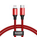 Недорогие Нормальные зарядные устройства-Подсветка / Type-C Кабель 2.0m (6.5Ft) Плетение / Высокая скорость сплав цинка Адаптер USB-кабеля Назначение iPad / Samsung / Huawei