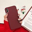 baratos Utensílios & Gadgets de Cozinha-Capinha Para Apple iPhone XS / iPhone XR / iPhone XS Max Antichoque Capa traseira Sólido Macia silica Gel